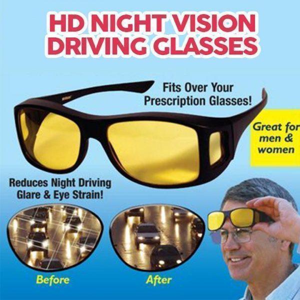 HD Night Vison Glasögon