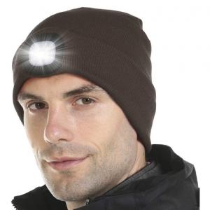 Värmande LED-mössa uppladdningsbar