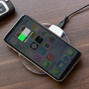 Trådlös laddare för smartphones