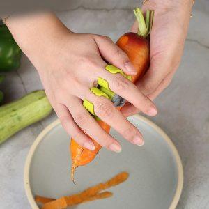 2 fingers Frukt och Grönsaksskalare